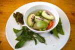 Green Curry Spices and Veggies - Chiang Mai, A cooking school