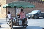 Little Girl on Tuk Tuk with Mother - Chiang Mai, Thailand