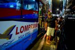 Arrived! Lompraya Bus from Koh Tao to Bangkok