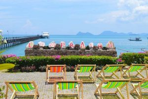 Beach and Relax Area - Lompraya Ferry Port, Chumpon