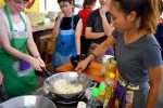 Mashing and Mixing Sticky Rice - Chiang Mai