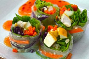 More Fresh Spring Rolls Finished - Chiang Mai, Thailand