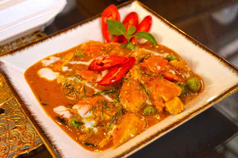 Panang Chicken Curry - Chiang Mai, a Cooking School