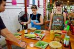 Preparation For Green Papaya Salad - Cooking Class in Chiang Mai