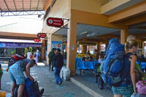 Arrival at the Bus Station - Chiang Mai