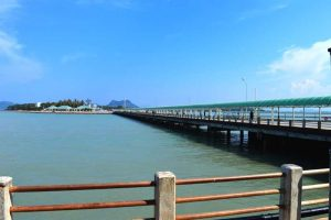 Walking The Long Surat Thani Pier - Thailand