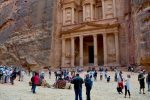 Busy Area - The Treasury, Petra, Jordon
