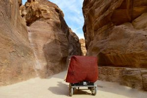 Carriage Ride to Petra - Jordan