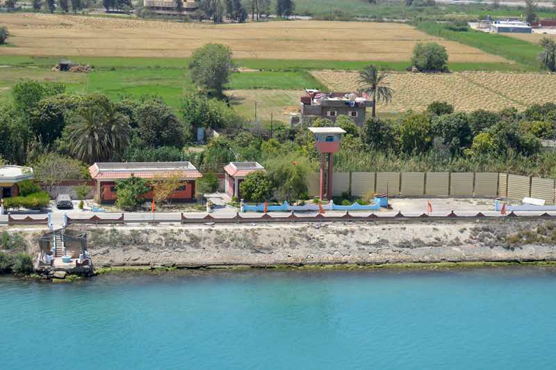 Farm at Side of the Suez Canal - 0111