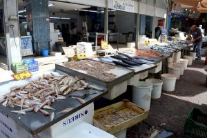 Fish Market - Piraeus, Greece
