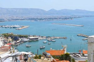View from Kastela - Piraeus, Greece