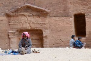 Man with Children - Petra - 0126