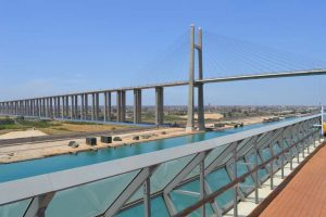 Mubarak Peace Bridge - Suez Canal Cruise - 0076