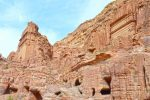 Nabatean Architectural Remains Everywhere - Petra - 0136