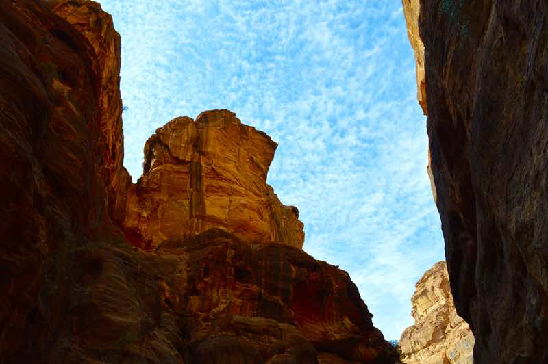 Skies Above Petra, Jordan