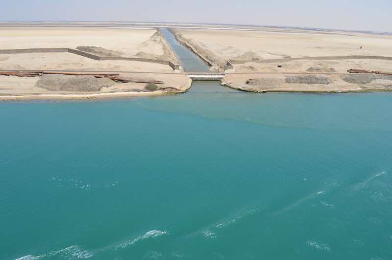Suez Canal Offshoot Waterway - 0131