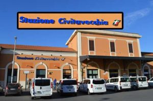 Civitavecchia Train Station - 0539