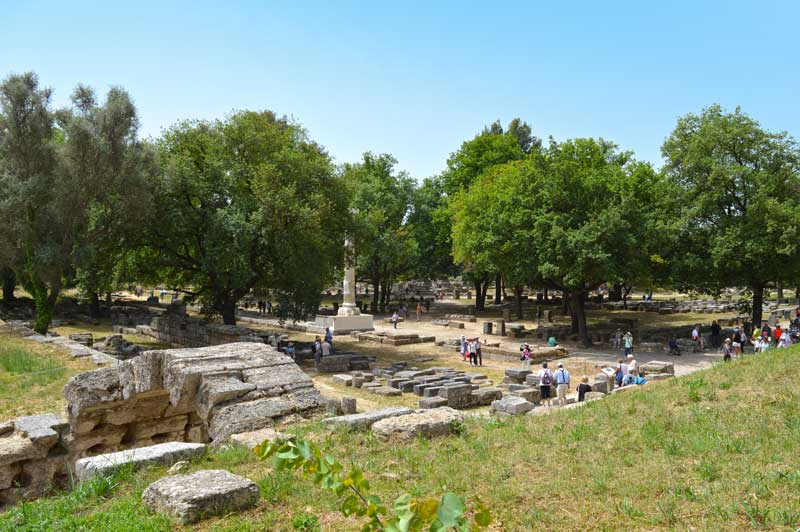 Echo Stoa - Olympia, Greece Cruise - 0308