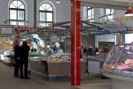 Fish and Meat Market - Civitavecchia, Rome Port, Italy