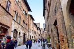 Main Street of San Gimignano, Italy - Livorno Cruise Port