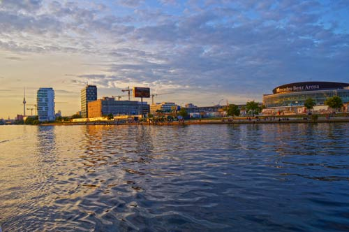 Mercedes Benz Arena - Spree River Cruise by Night - Berlin -0015-(1)