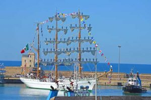 Mexican Sail Ship - Civitavecchia, Port of Rome