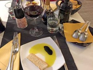 Oil, Balsamic Vinegar & Bread - Il Boccone d'Oro, Civitavecchia - Port of Rome