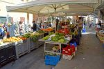 Outdoor Market Stands, Fruits & Vegetables - Civitavecchia, Rome Port