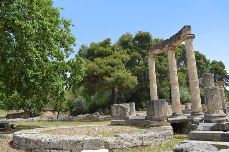 Prytaneion, Seat of Government - Olympia, Greece - Cruise - 0285