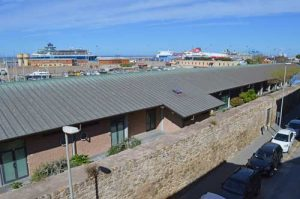 Rome Port View From Bed and Breakfast Fuori dal Puerto - Civitavecchia