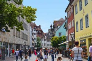 Shopping on Hussenstrasse - Konstanz, Germany -0210