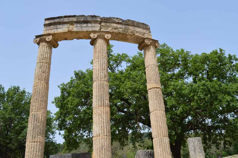 Top of the Prytaneion - Olympia, Greece - 0286