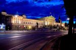 Austria Parliament - Night Lit, Vienna