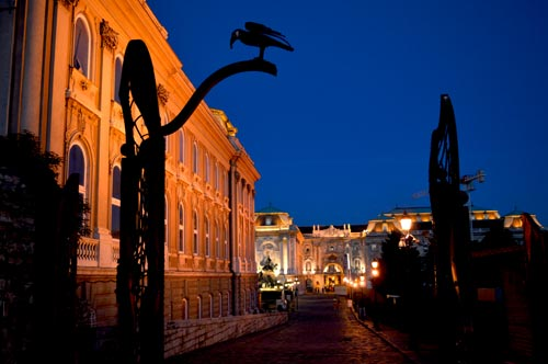 Castle Hill by Night, Museum District - Budapest, Hungary