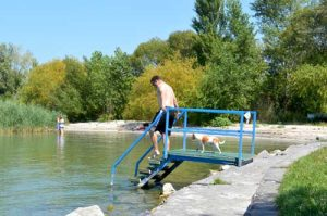 Dog Friendly Beach - Fonyód, Lake Balaton, Hungary