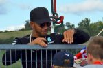 Formula 1 Lewis Hamiltion, Petronas Driver Greets the Crowds at Hungaroring, Hungary