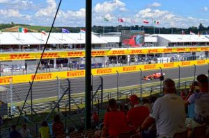 Hungaroring Qualifications - Gold Seating - F1