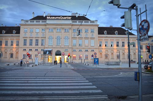 Museum Quartier - Parking in Vienna, Austria