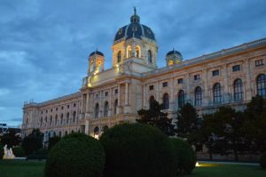 Museum by Night - Vienna / Wien, Austria