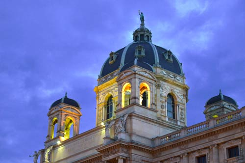 Museum of Natural History Tower - Vienna, Austria