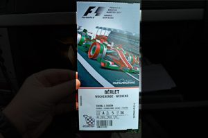 Weekend Ticket for Hungaroring 2017 - Formula 1, Hungary