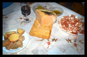 Croatian Homemade Prosciutto and Juust Sheep Cheese - Sveti Petar