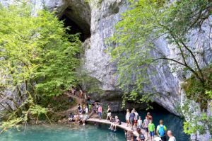 Hollow Cave - Plitvice Lakes National Park, Croatia