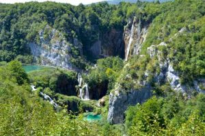 Plitvice Falls and Lakes Overview - National Park, Croatia