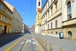 Street with Church - Zagreb, Croatia