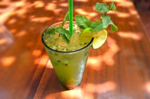 AceroLa Passion Fruit Mojito, Cool Tropical Drink - Gia Thanh Guest House, Phu Quoc, Vietnam
