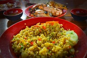 Chicken Fried Rice - Phu Quoc Night Market Dinh Cau