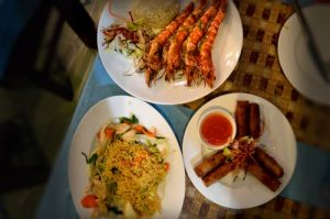 Dinner for Two! Restaurant Thu Phuong, Duong Dong, Phu Quoc, Vietnam