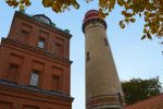 Fall View of Cape Arkona Lighthouse - Ruegen, Germany