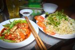 Fried Rice & Spicy Tamarind Shrimp - Quan Oc Binh Dan 30k Restaurant, Phu Quoc